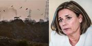Klimatminister Isabella Lövin (MP) TT