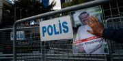 Avspärrningar utanför den saudiska ambassaden i Turkiet. Emrah Gurel / TT NYHETSBYRÅN/ NTB Scanpix
