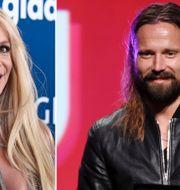 Britney Spears och Max Martin. TT