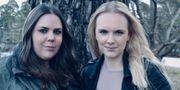 Linnéa Bohlin och Amanda Karlsson. Pressbild