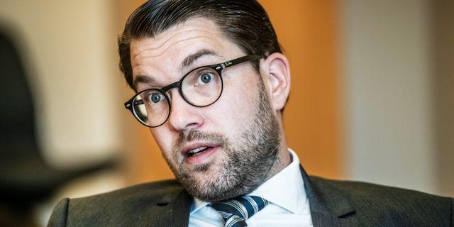 Jimmie Åkesson Tomas Oneborg/SvD/TT / TT NYHETSBYRÅN