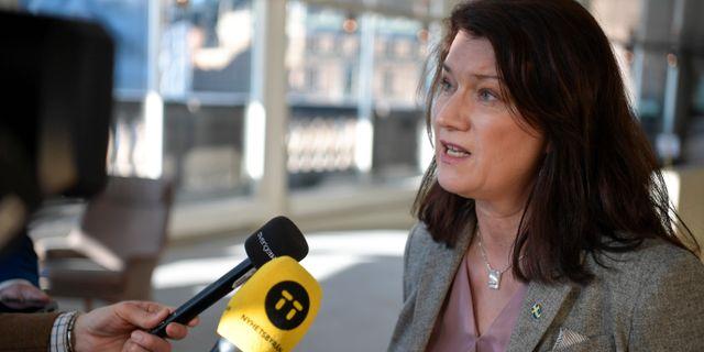 Ann Linde.  Pontus Lundahl/TT / TT NYHETSBYRÅN