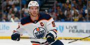 Connor McDavid i Edmonton Oilers. Jeffrey T. Barnes / TT NYHETSBYRÅN