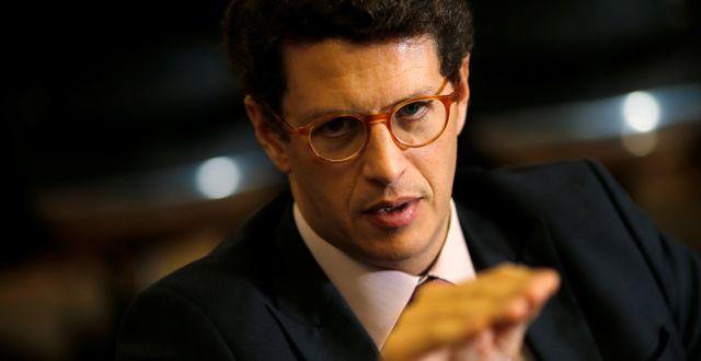 Brasiliens miljöminister Ricardo Salles. ADRIANO MACHADO / TT NYHETSBYRÅN