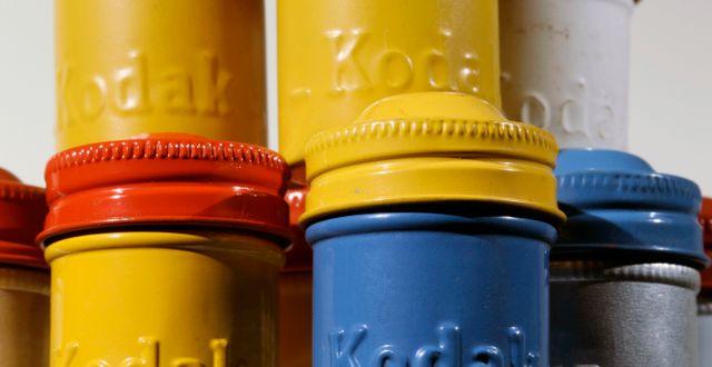 Kodak. Mel Evans / TT NYHETSBYRÅN