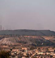 Schonlands kolgruva i Sydafrika WIKUS DE WET / AFP