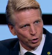 Per Bolund/Annie Lööf.  SVT/TT
