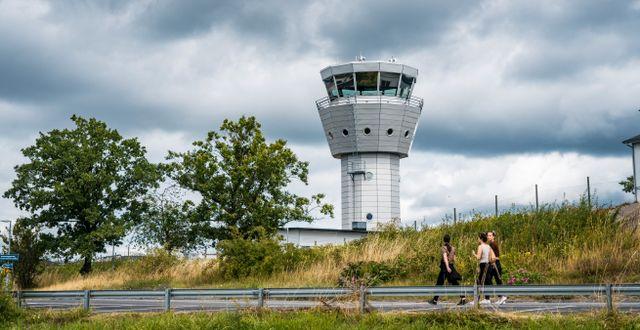Arkivbild, Bromma flygplats.  Simon Rehnström/SvD/TT / TT NYHETSBYRÅN
