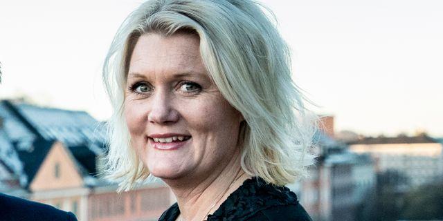 Lena Rådström Baastad. Christine Olsson/TT / TT NYHETSBYRÅN