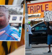 Dödsskjutningen av Alton Sterling ledde till häftiga protester och debatt om övervåld av vita poliser mot svarta män i USA. TT