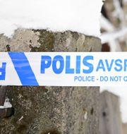 Huset i Nässjö som brann ned.  Mikael Fritzon/TT / TT NYHETSBYRÅN