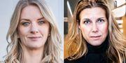 Arkivbilder: Danske Banks Maria Landeborn och Lannebo Fonders Charlotta Faxén. TT