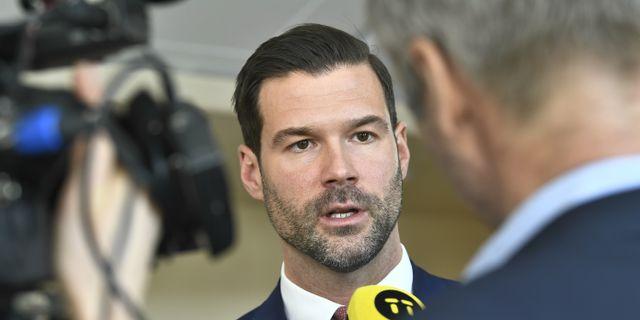 Johan Forsell. Claudio Bresciani/TT / TT NYHETSBYRÅN