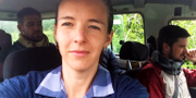 Zaida Catalán mördades på ett FN-uppdrag i Kongo 2017. SVT/Uppdrag granskning.