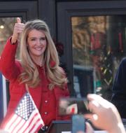 Kelly Loeffler och David Perdue/Donald Trump /Arkivbilder TT