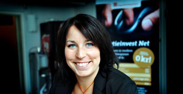Therese Lundstedt är vd på Aktieinvest.  Yvonne Åsell / SvD / TT / TT NYHETSBYRÅN