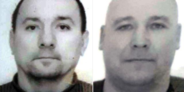 Jaroslav Lavryniv och Olexsandr Traiduk misstänks för mordet på Gert-Inge Bertinsson. Polisen