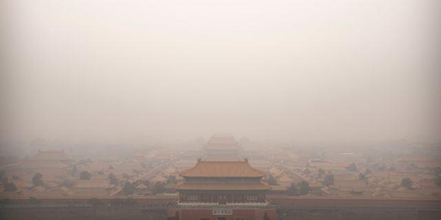 Peking, Kina  Mark Schiefelbein / TT NYHETSBYRÅN