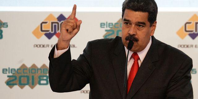 Nicolás Maduro.  FEDERICO PARRA / AFP