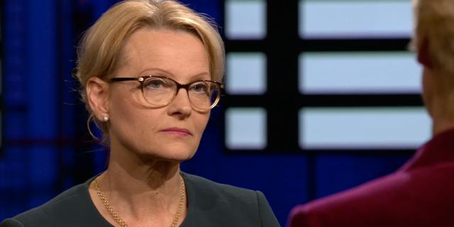 Heléne Fritzon (S) debatterade med Elisabeth Svantesson (M). SVT