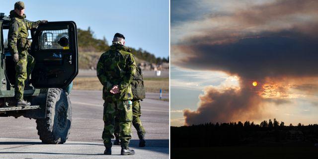 Arkivbild / Branden i Ljusdals kommun. TT.