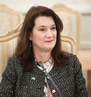 Utrikesminister Ann Linde. TT NYHETSBYRÅN