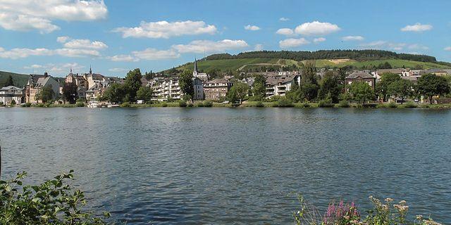 Den tyska staden Traben-Trarbach. Wikimedia/Michielverbeek.