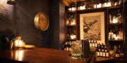 Man måste dra in magen ordentligt om man ska få plats i Londons minsta bar, The Brig. The Brig
