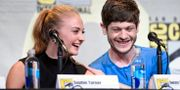 Sophie Turner och Iwan Rheon. Chris Pizzello / TT / NTB Scanpix