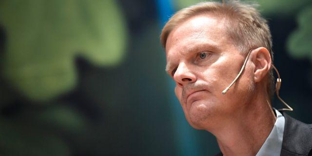 Swedbanks vd Jens Henriksson. Pontus Lundahl/TT / TT NYHETSBYRÅN