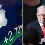 Apple och Buffett. TT