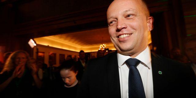 Senterpartiets leder Trygve Slagsvold Vedum Bendiksby, Terje / TT NYHETSBYRÅN