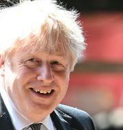 Brittiske premiärministern Boris Johnson.  Paul Ellis / TT NYHETSBYRÅN