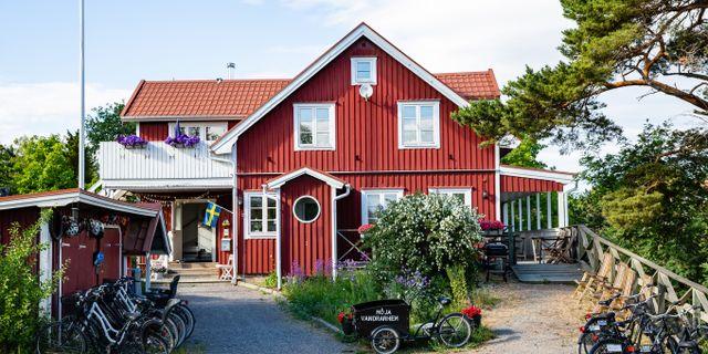 Möja Vandrarhem i Stockholms skärgård. STF