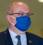 Jean-Pierre Thebault på Sydneys flygplats. David Gray / TT NYHETSBYRÅN
