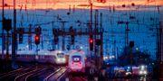 Tåg i Frankfurt, Tyskland. Michael Probst / TT NYHETSBYRÅN