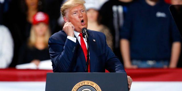 Donald Trump. Paul Sancya / TT NYHETSBYRÅN