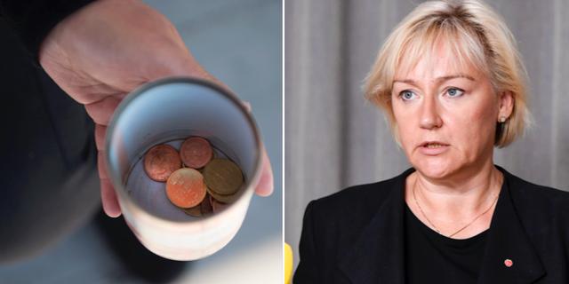 Socialdemokraternas distriktsordförande i Stockholms län, Helen Hellmark Knutsson TT