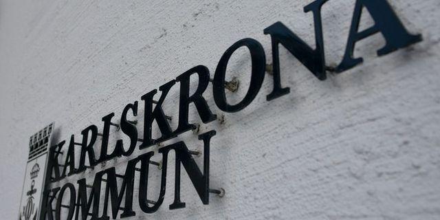 Karlskrona kommun. Arkivbild. TT