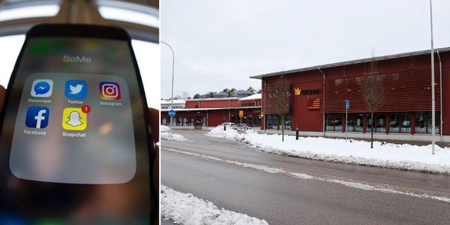 Illustrationsbild/Kronans skola i Trollhättan. TT