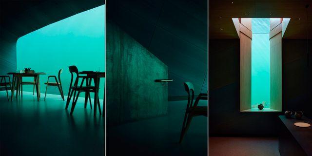 Restaurangen är ritad av den prisbelönta designfirman Snøhetta, som bland annat gjort Oslos operahus Ivar Kvaal/Snøhetta