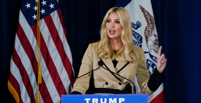 Ivanka Trump.  Charlie Neibergall / TT NYHETSBYRÅN