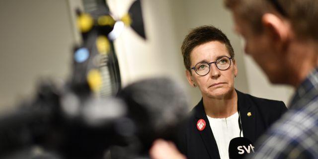 Ann-Sofie Hermansson. Björn Larsson Rosvall/TT / TT NYHETSBYRÅN