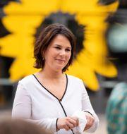 De grönas kanslerkandidat Annalena Baerbock. Kay Nietfeld / TT NYHETSBYRÅN