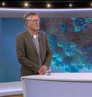 Anders Tegnell intervjuas i Aktuellt. SVT