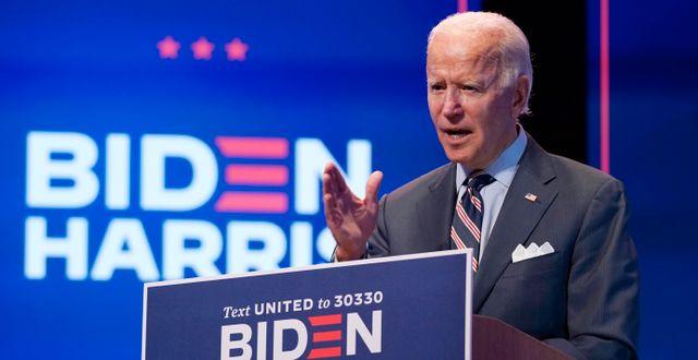 Joe Biden i Wilmington Patrick Semansky / TT NYHETSBYRÅN