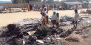 By som attackerats av Boko Haram, 1 november. Stringer . / TT NYHETSBYRÅN
