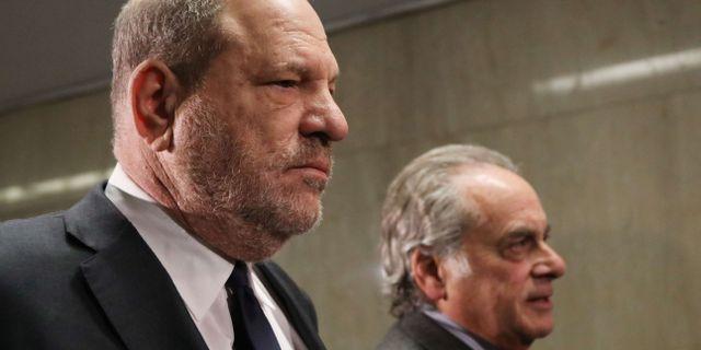 Harvey Weinstein.  SPENCER PLATT / GETTY IMAGES NORTH AMERICA