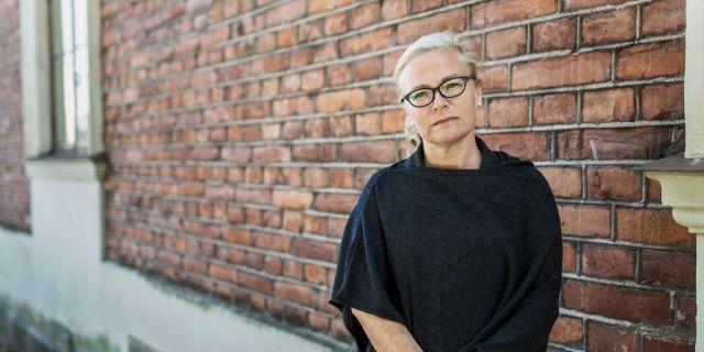 Britta Lejon, ordförande i fackförbundet ST. Daniella backlund/SvD/TT / TT NYHETSBYRÅN