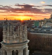 Madrid.  Daniel Ochoa De Olza / TT NYHETSBYRÅN